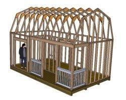 10 X 16 Shed Plans Free by 851 Best Shed Plans Images On Pinterest Garage Ideas Garden