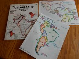 Majestic Design Ideas Geography Coloring Book 5 Modern