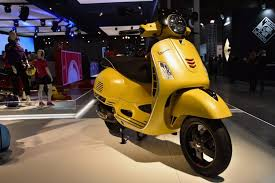 Coupled On The 300cc Model With ASR System For Absolute Safety Colours Met Grey Blue Black Beige Vespa GTS Touring 125
