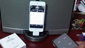Sounddock BOSE & iPod Touch 5g With Lightning To 30 Pin Adapter