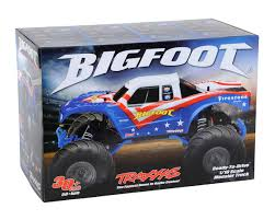 100 Bigfoot Monster Truck Toys Traxxas 110 RTR Red White Blue