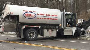 100 Tanker Truck Crash Woman Critically Inured After Headon Crash With Fuel Tanker In Hubbard
