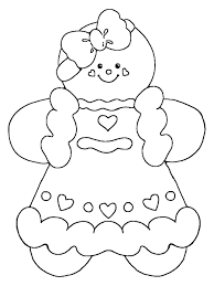 Blank Gingerbread House Coloring Pages Archives Within Page