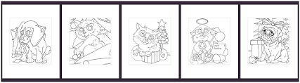 Xcode Coloring Book Tutorial Adult Pack Christmas Cuddles Copic Marker