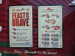 Truck Stop: Can You Stomach The Feast Of The Brave? - Houston Chronicle The 10 Best Food Trucks Right Now Houstonia Truck Park Ready To Roll Into Spring Houston Chronicle Full Review Of Bernies Backyard Grand Opening Event On July 25th Htown Streats Keeps On Trucking 13 Best Truck Images Pinterest Carts Trucks And Coffee Kolaches This Saturday At Southside Htown Eater Rival Brothers Served Up Hot Cupsojoe For Big Sexy Finds A Brick Mortar Home Chicken Tender My Park Htx Closed 61 Photos 33 Reviews Fugu Authentic Asian Street Wheels By Bing Liu