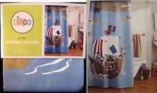 Circo Pirate Blue Shower Curtain 72x72 Kids Ship