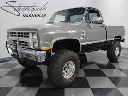1987 Chevrolet Silverado K-10 4x4 For Sale | ClassicCars.com | CC ... Big O Street Rods 1987 Chevrolet C10 Silverado 4x4 Sale Pending Chevy 4x4 Classic 1500 4in Suspension Lift Kit For 7791 Chevy Gmc 4wd Pickup 87 For Sale Old Photos Truck Ebay Motors San Jose Ca S10 Show Sale At Gateway Cars Sierra Matt Garrett Hard To Find A Chevy Short Bed Truck Like This V10 Lifted Youtube Ck Classics On Autotrader File8187 Ckjpg Wikimedia Commons