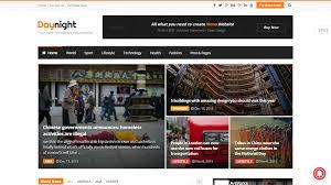 100 Best Designed Magazines 30 Magazine News WordPress Themes 2017 Create And Code