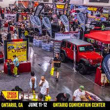 4 Wheel Parts Truck & Jeep Fest Touches Down In Ontario, California