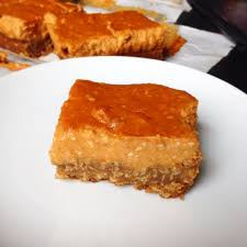 Pumpkin Snickerdoodle Cheesecake Bars by Cheesecake Stef U0027s Gastronomy