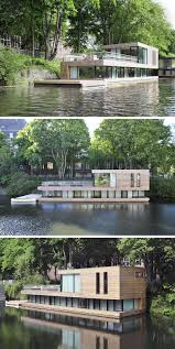 11 Awesome Examples Of Modern House Boats // This Floating Home ... Home Design Modern Elegant Design Of The European Contemporary Amsterdam Tour A Traditional Canal House Our Stay On The Home Lake Backyard With Kids Play Fun For Hotel Woont Love Your A Brief History Aterdams Narrow Houses Industrial Interior Project Porcelain Canal House Tea Lights Six Designs By Bonnie And Bell Property Of Week District In Shelter Island By Stamberg Aferiat Canal Houses By Adept 3 Bedroom Shipping Container Homescontainer Floor Plans In