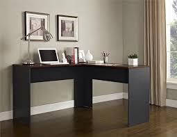 Altra Chadwick Corner Desk Black by Ameriwood Furniture The Works L Shaped Desk Cherry