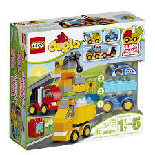 LEGO Duplo My First Cars And Trucks (10816) - LEGO - Toys