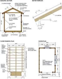 Floor Joist Span Table For Sheds by 8x12 Shed Blueprints Foundation And Flooring Farm And Beach