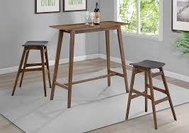 atlantic bedding and furniture annapolis natural walnut bar