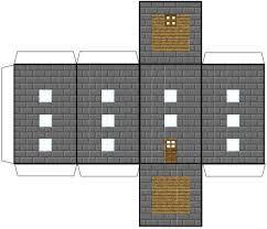 Minecraft Papercraft House Blocks 0TEo0vw5