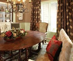 The Curtain Exchange Of Atlanta Rustic Dining Room