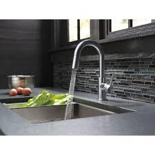 Delta Trinsic Kitchen Faucet Black by Delta Faucet 9959 Bl Dst Trinsic Matte Black Pullout Spray Bar