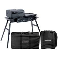Blackstone Patio Oven Assembly by Tailgator Combo Carry Bag Set Blackstone Tailgator Grill With