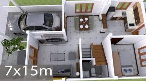 100 Interior Design Of House Photos Plan 7x15m Walk Through With Full Plan 4Beds