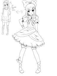 Cool Anime Drawing Ideas Oc Helloitsmuah On Deviantart