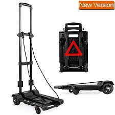 Folding Heavy Duty Multi Position Dolly Hand Truck Just $21.99 ...