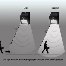 oxyled éclairage extérieur solaire 8 led le sans fil capteur de