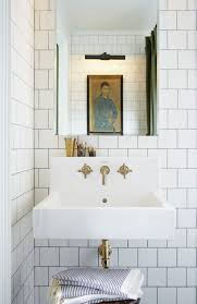 Replacing A Faucet On A Pedestal Sink by Best 25 Wall Mounted Sink Ideas On Pinterest Small Pedestal