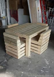 Pallet Wood Patio Chair Plans by Home Design Pretty Plans For Pallet Chair Patio Chairs Diy Wood