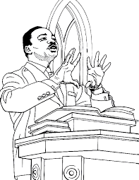 Zonae Coloring People Martin Luther King