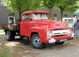 1956 - Ford F350 Pick-Up | Oldtimerdag Lelystad 2014 | Pinterest ...
