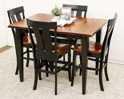 100 Cherry Table And 4 Chairs Camden Shaker Pub With Kinglet Dutch Craft Furniture