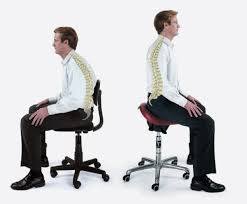 Dental Hygiene Saddle Chair by Conventional Seating Collapses Your Spine Into An Unnatural U0027c