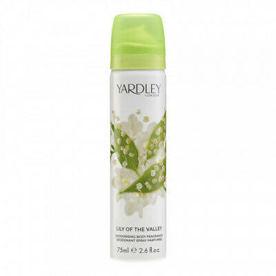Yardley London Lily of the Valley Deodorising Body Fragrance - 75ml