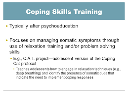 coping cat chapter 8 anxiety disorders in adolescents michael a mallott