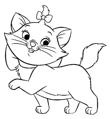 Kitten Coloring Pages Printable