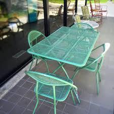 Patio Ideas Mid Century Designs Modern Outdoor Table