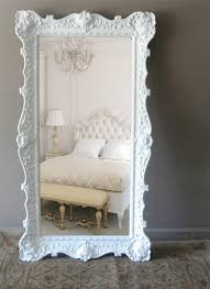 Leaning Floor Mirror Belgian Cream And Very Ornate Description From
