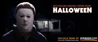 Halloween H20 Mask by Rubie U0027s Costumes 2015 Deluxe Michael Myers Mask U2013 Halloweenmovies