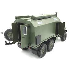100 Rc Military Trucks WPL B36 Ural RC Car Crawler Truck Army Green