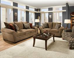 Ergonomically Correct Living Room Furniture by Traditional Styled Loveseat With Comfortable Look For Casual
