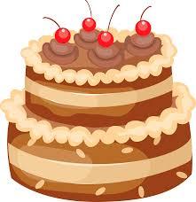 Chocolate Cake clipart cute cake 3