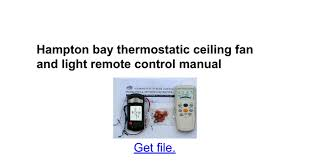 Hampton Bay Ceiling Fan Remote Control Instructions by 100 Hampton Bay Ceiling Fan Instructions Install Hampton