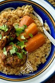 recette cuisine couscous tunisien couscous aux boulettes d aneth chebtiya la tunisiennela