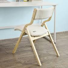 sobuy klappstuhl küchenstuhl mit gepolsterter sitzfläche und lehne fst40 w