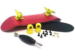 Amazon.com: Star Fingerboards Pink Complete Wooden Fingerboard 30mm ...
