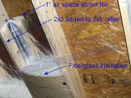 Insulating Cathedral Ceiling With Rigid Foam by Insulating Cathedral Ceilings How To Build An Insulated Cathedral