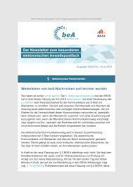 Brak Mitteilungen Bea Newsletter Ausgabe 18 2019 V 16 5 2019