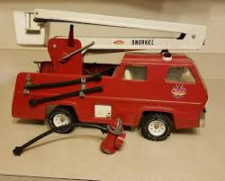 100 Snorkel Truck Vintage Tonka Fire 17 W 5 Hoses And Hydrant Nice