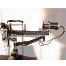 Haag Streit Slit Lamp by Early Goldman Haag Streit Slit Lamp 1932 Antique Collectible
